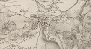 Old Map of
