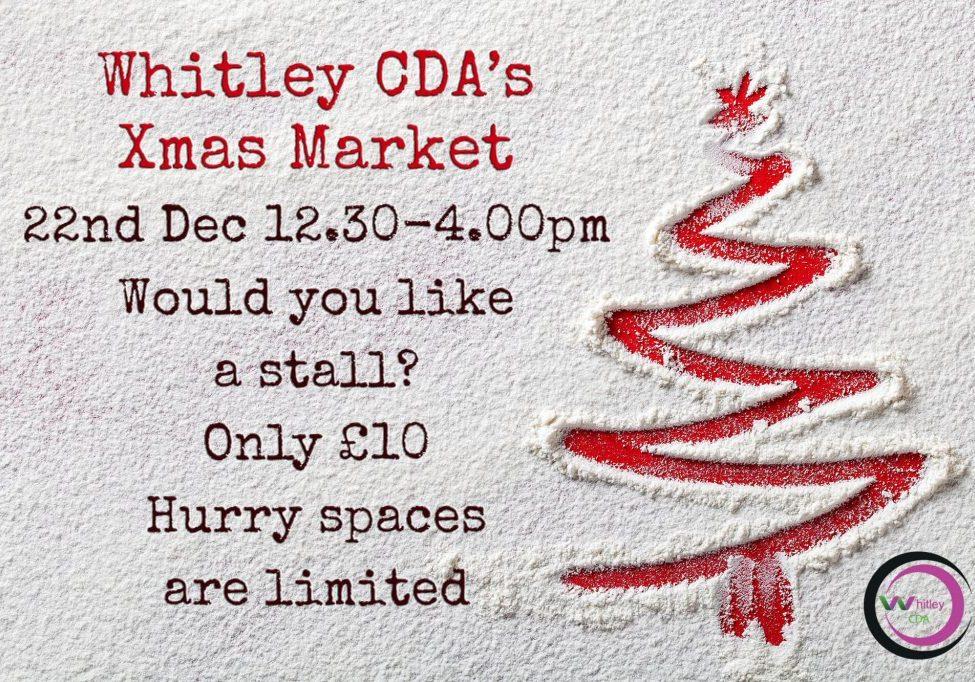 Whitley CDA's Xmas Market